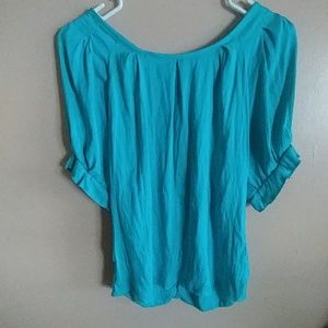 Express brand Turquoise dress top sz Med